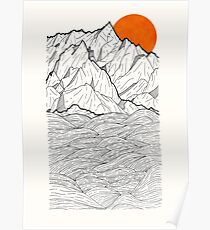 The Orange Sun Poster