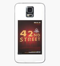 The Regals - 42ND STREET - Poster Case/Skin for Samsung Galaxy