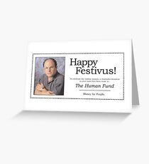 The human fund greeting cards redbubble the human fund greeting card m4hsunfo