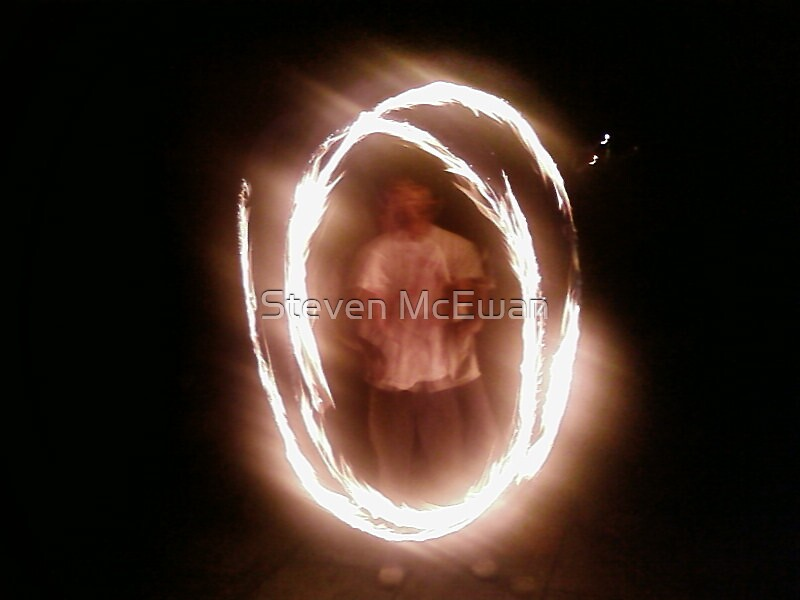 Fire Poi by Steven McEwan