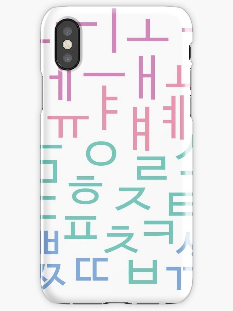 Hangul Letters - Korean Alphabet - kdrama kpop by heartandseoul
