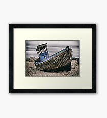 No Fishing Framed Print