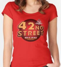 The Regals - 42ND STREET Women's Fitted Scoop T-Shirt