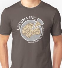 Lacuna Inc. logo from Eternal Sunshine of the Spotless Mind Unisex T-Shirt
