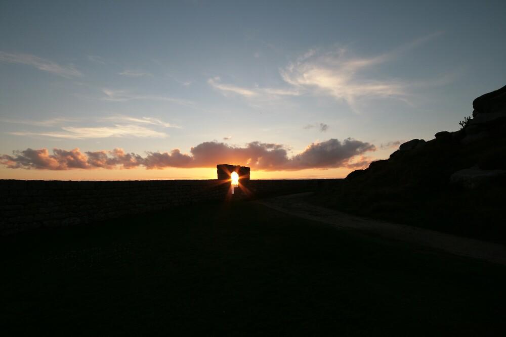 Garrison Sunset by Monster