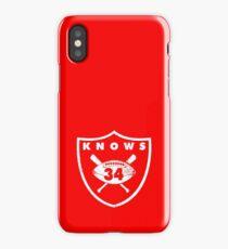 raiders iPhone Case/Skin