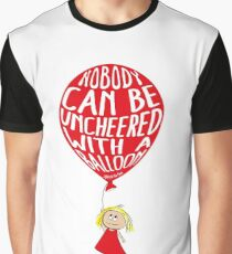 Nobody can be unCheered with a Balloon Graphic T-Shirt