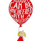 Nobody can be unCheered with a Balloon by Annette Abolins