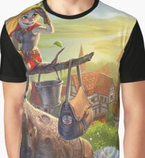 Robin Sitting in a Tree  Graphic T-Shirt