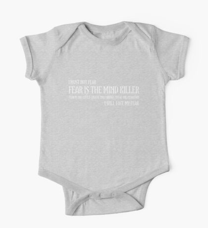 The Litany Against Fear Kids Clothes