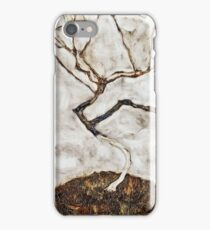 Egon Schiele - Small Tree In Late Autumn (1911) iPhone Case/Skin