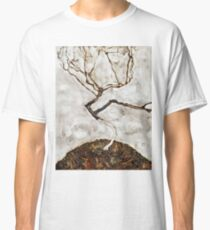 Egon Schiele - Small Tree In Late Autumn (1911) Classic T-Shirt