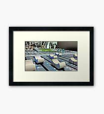 World of Sound Framed Print