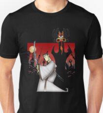 Samurai Jack Vs Aku Unisex T-Shirt