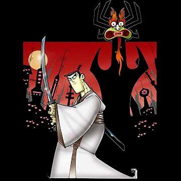 Samurai Jack Vs Aku by ozanthekill