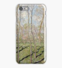 Claude Monet - View Of Bennecourt iPhone Case/Skin