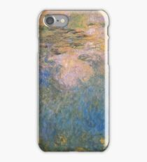 Claude Monet - The Water-Lily Pond 1914 iPhone Case/Skin