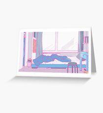 La Chambre D'Une Fille Douce Greeting Card
