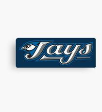 toronto blue jays baseball Canvas Print