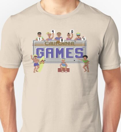 Gaming [C64] - California Games T-Shirt