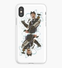 Steampunk Nikola Tesla iPhone Case/Skin