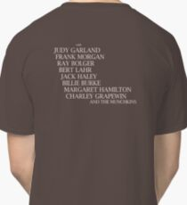 Wizard Of Oz Credits Classic T-Shirt