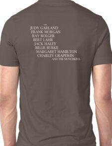 Wizard Of Oz Credits Unisex T-Shirt