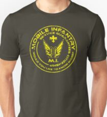 Starship Troopers - Mobile Infantry Patch T-Shirt