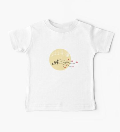Oriental Swallows And The Bright Round Yellow Moon Kids Clothes
