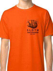 Sloth Inactivewear (Pocket) Classic T-Shirt