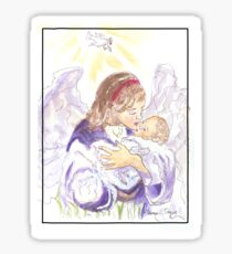 Angel of Protection Sticker