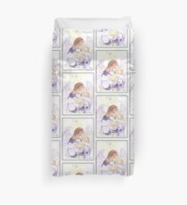 Angel of Protection Duvet Cover