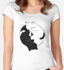 Eternal Cat Love Women's Fitted Scoop T-Shirt