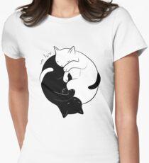 Eternal Cat Love Women's Fitted T-Shirt