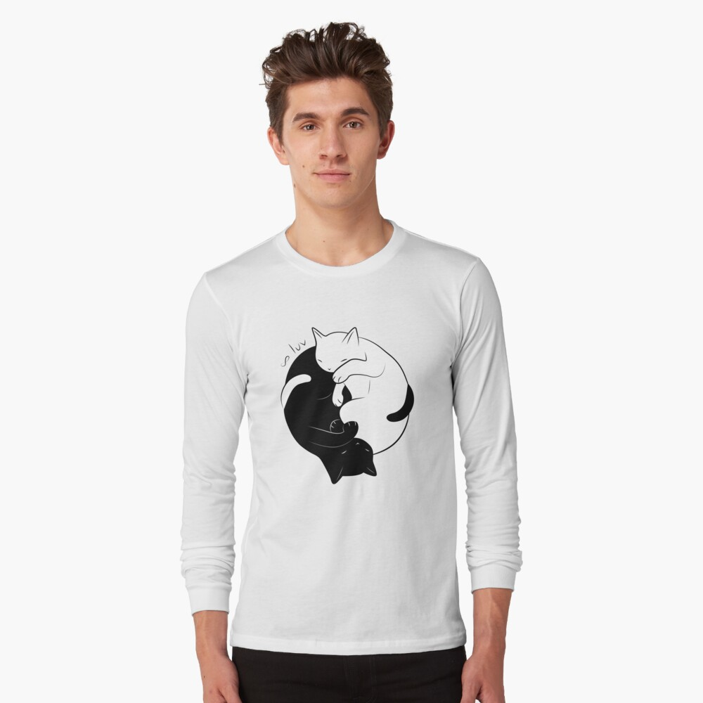 Eternal Cat Love Camiseta de manga larga