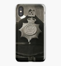 Old Antique Police Hat iPhone Case/Skin