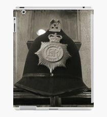 Old Antique Police Hat iPad Case/Skin