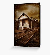 The day you went away Greeting Card