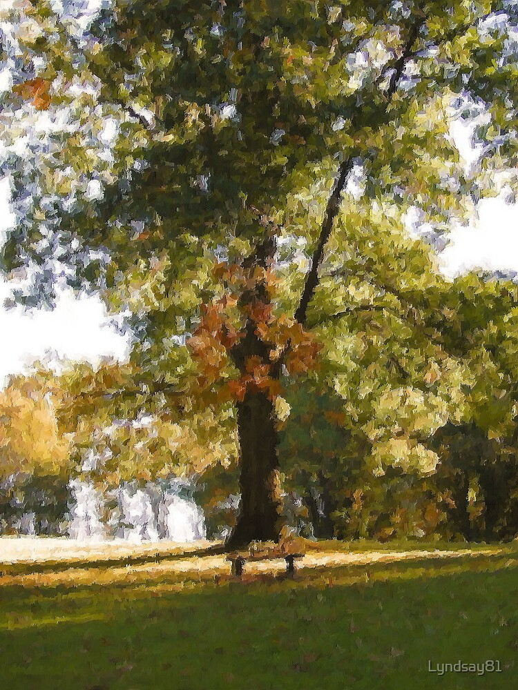 Lonely Bench by Lyndsay81