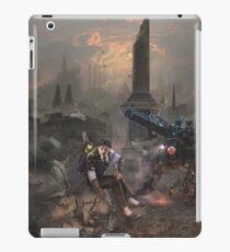 Nikola Tesla in Trafalgar Square iPad Case/Skin