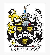 Blakeney Coat of Arms Photographic Print