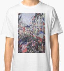 Claude Monet - The Rue Saint - Denis, Celebration Of June 30, 1878 Classic T-Shirt