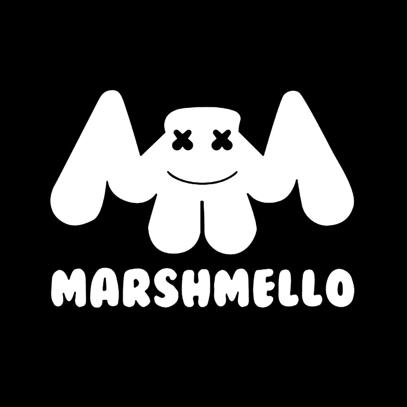 """Marshmello Logo Merch"" Framed Prints by hamisoy | Redbubble"