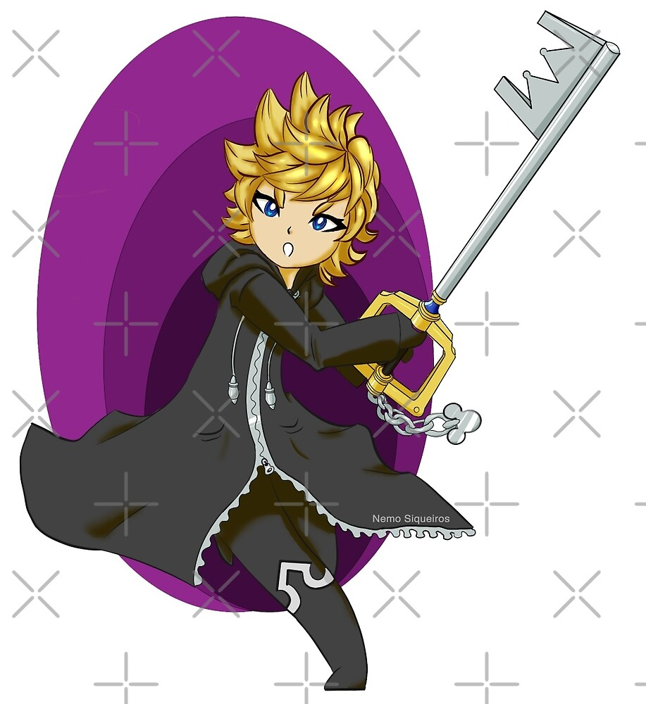 Roxas - From the Void by ChocoboMausi