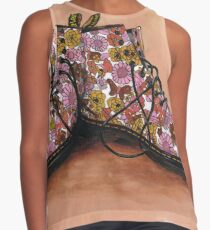 A Pair of Floral Dr Martens Contrast Tank