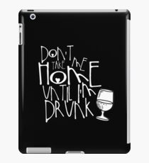 Drunk iPad Case/Skin