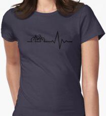 Bike Life Tailliertes T-Shirt für Frauen
