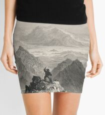 View from Sugarloaf, Bantry Bay, Cork, Ireland Mini Skirt