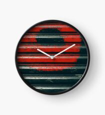 Black & Red Clock