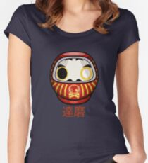 mikoto's Daruma Doll Women's Fitted Scoop T-Shirt